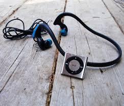 Hydroharmony with silver iPod on wood