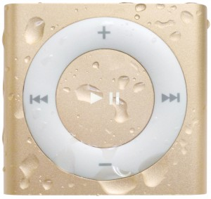 gold waterproof iPod