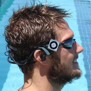 Logan Storie with Hydroharmony, silver iPod