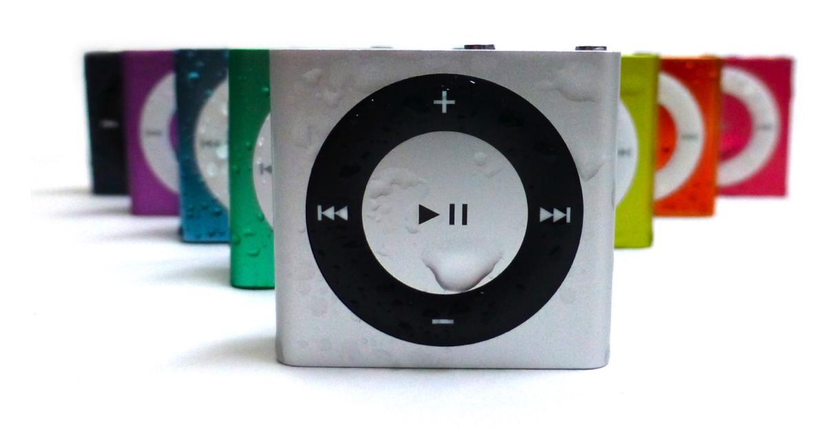 Rainbow of iPods