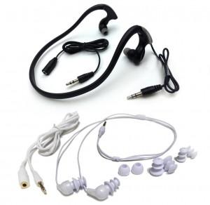 Swimbuds and HydroHarmony Waterproof Headphones