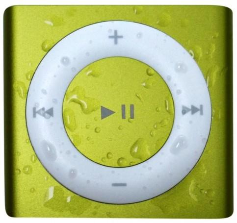 Yellow Waterproof iPod Shuffle