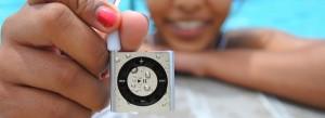 Silver iPod
