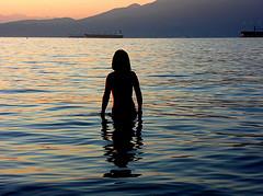 open water swimming lake