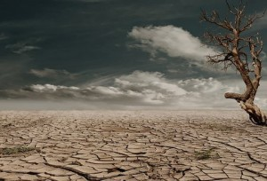 dehydration dry earth