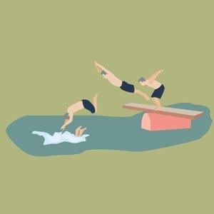 swim free dive