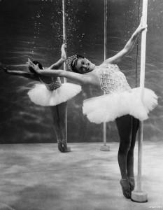 Esther Williams Posing in Ballerina Costume