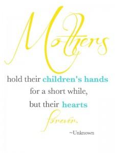 holding hearts