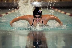 butterfly stroke swimmer swimming