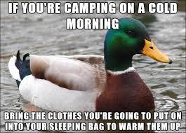 Camping MEme