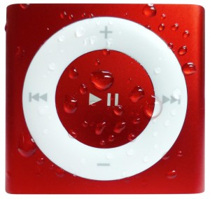 Red Waterproof iPod