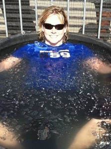Karyn Marshall Ice Bath