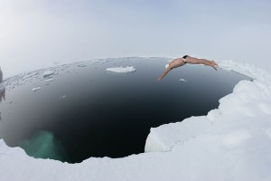 Lewis Pugh North Pole Swim