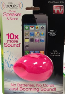 egg beats speaker dock