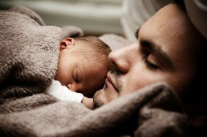 Father and baby
