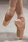 ballet pointed toes
