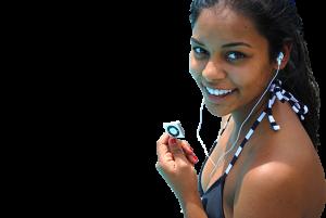 waterproof ipod with waterproof headphones
