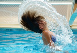 Pool Swimmers Hair