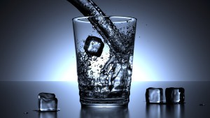 myths about drinking water - water glass