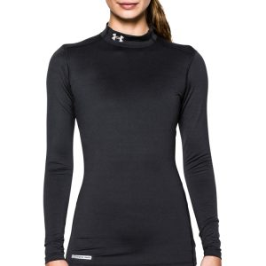 Under Armour Women's Fitted ColdGear Mockneck Shirt - $37.49 (via)