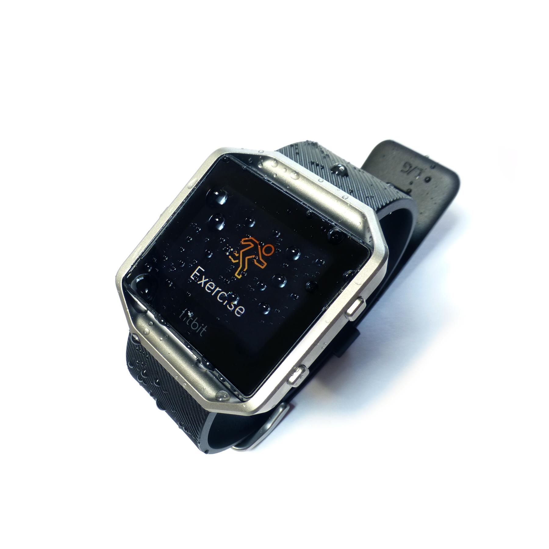 Waterproof Fitbit Blaze Underwater Audio