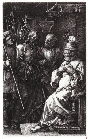 Albrecht Dürer. Christ Before Caiphas, 1512