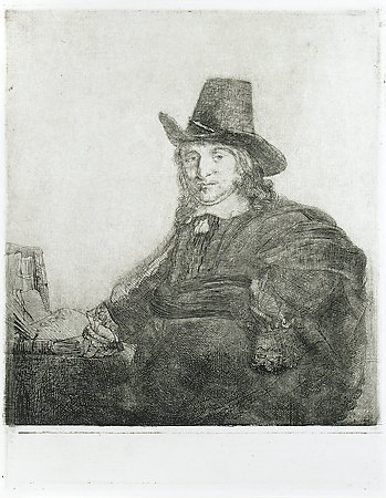 Jan Asselyn, Painter, Rembrandt van Rijn, c. 1647, Gift of Bill & Ann Buckmaster