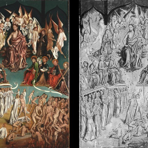 Fernando Gallego, Francisco Gallego, and Workshop, The Last Judgment, 1480-1488. Gift of the Samuel H. Kress Foundation.