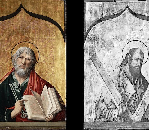 Fernando Gallego, St. Andrew and St. Peter, 1480-1488. Gift of the Samuel H. Kress Foundation.