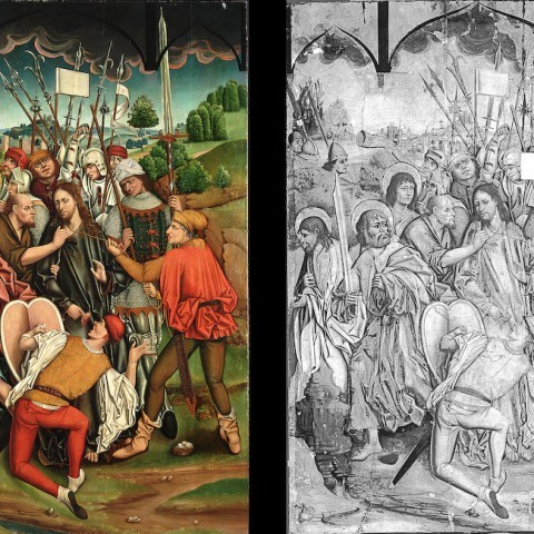 Fernando Gallego and Workshop, The Betrayal of Christ, 1480-1488. Gift of the Samuel H. Kress Foundation.
