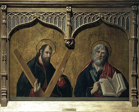 St. Andrew and St. Peter, Fernando Gallego, 1480-1488