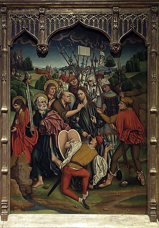 The Betrayal of Christ, Fernando Gallego and Workshop, 1480-1488