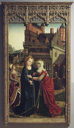 The Visitation, by the Master of the Retablo of the Reyes Católicos, 1496-97