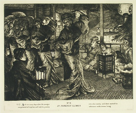 James Tissot, The Prodigal Son in Modern Life: In Foreign Climes (En pays estranger),  1881