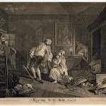 Hogarth, William, Marriage a-la-Mode, plate V, 1745