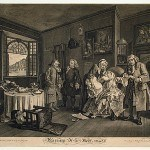 Hogarth, William, Marriage a-la-Mode, plate VI, 1745