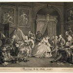 Hogarth, William, Marriage a-la-Mode, plate IV, 1745