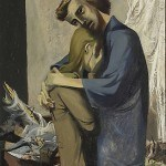 "Refregier, Anton, Broken Life, 1942 Gift of C. Leonard Pfeiffer Oil on board, 29 3/4"""" x 21 1/2"""
