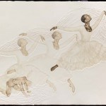 Winged Victory, 1977, copyright 1993 Intaglio on paper