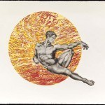 The Many Colors of Adam, 1973, copyright 1990 Mixed media intaglio print