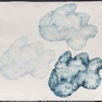 Cloud Horses Kicking Up A Storm Rebelling At View Below, 1981