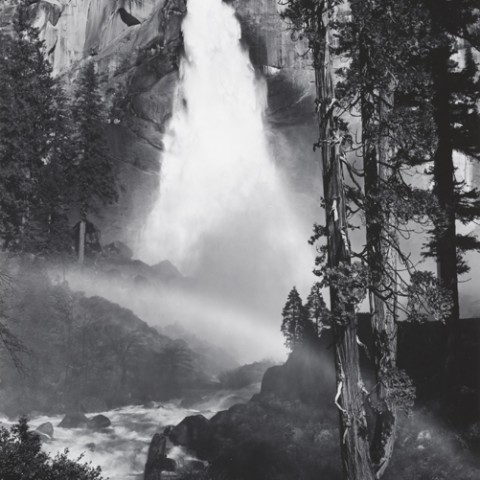 Nevada Fall, Rainbow, Yosemite Valley, 1946-1950 Photograph by Ansel Adams Collection Center for Creative Photography, University of Arizona © The Ansel Adams Publishing Rights Trust