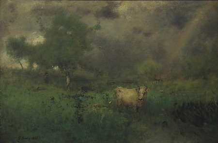 George Inness, End of the Rain, 1891, oil on canvas