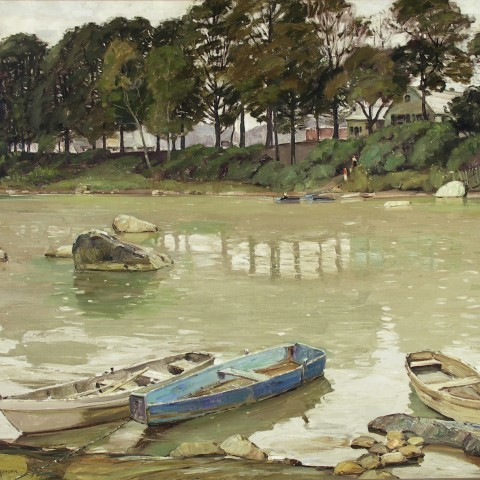 Symons, George Gardner. Across the River. ca.1910-1930