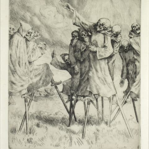 William Strang, Danse Macabre