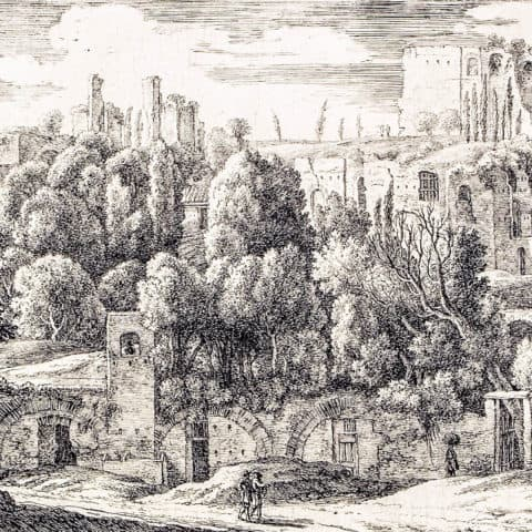 Herman van Swanevelt, Ruins of an Amphitheatre