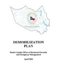 Demobilization Plan (Example)