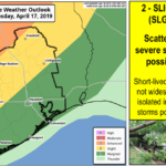 More Severe Weather Possible Tomorrow Night – 4.16.19