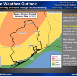 Strong Thunderstorms Possible this Weekend- 5.17.19