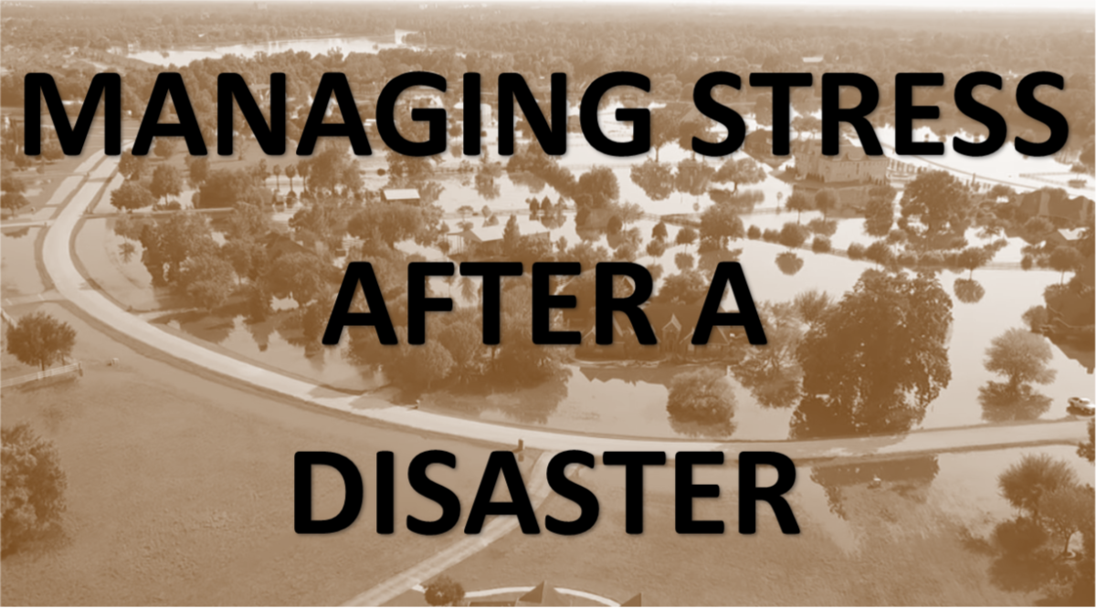 Managing Stress after a Disaster
